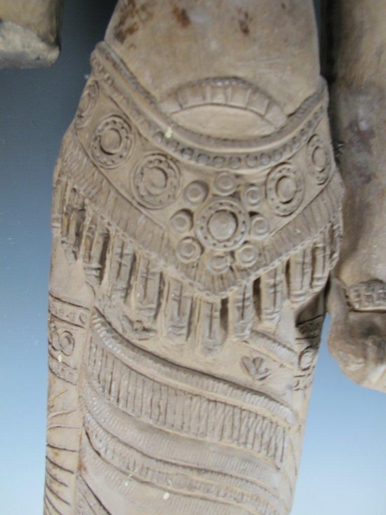 Huge Thai Terracotta sculpture - 6