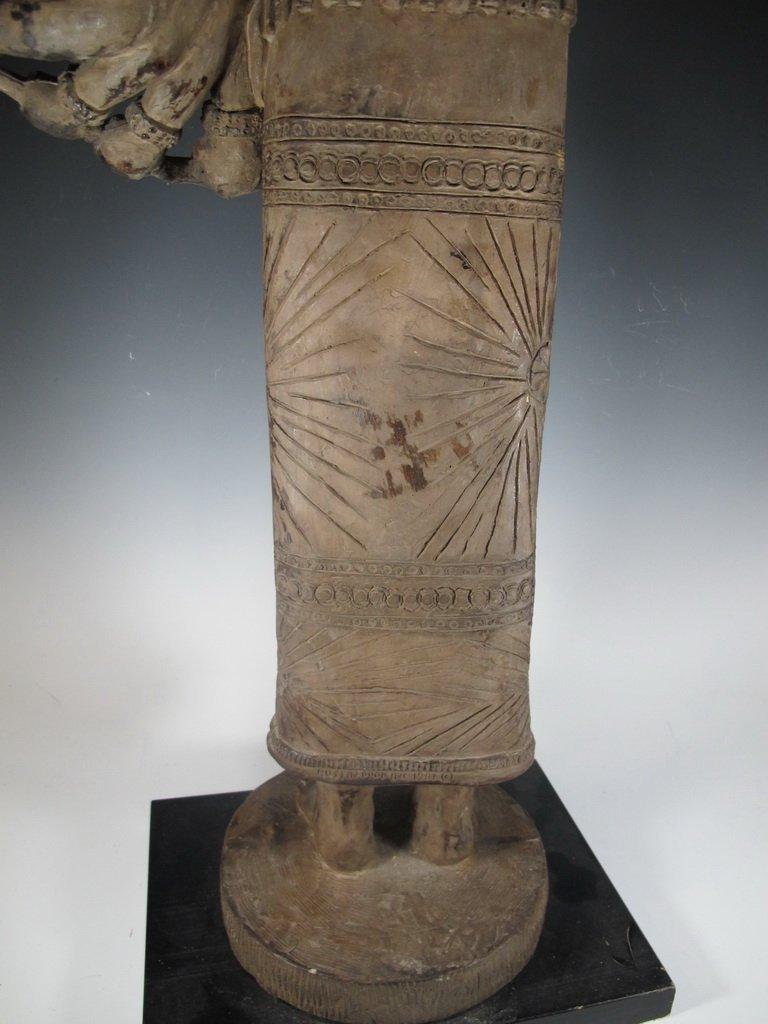 Huge Thai Terracotta sculpture - 8