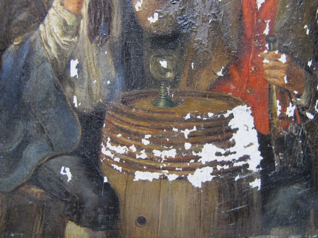 Peter I KRAEMER (1823-1907) oil on copper - 3
