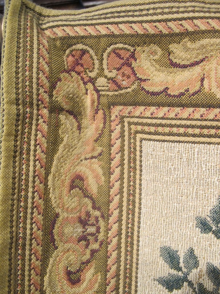 Vintage French tapestry - 4