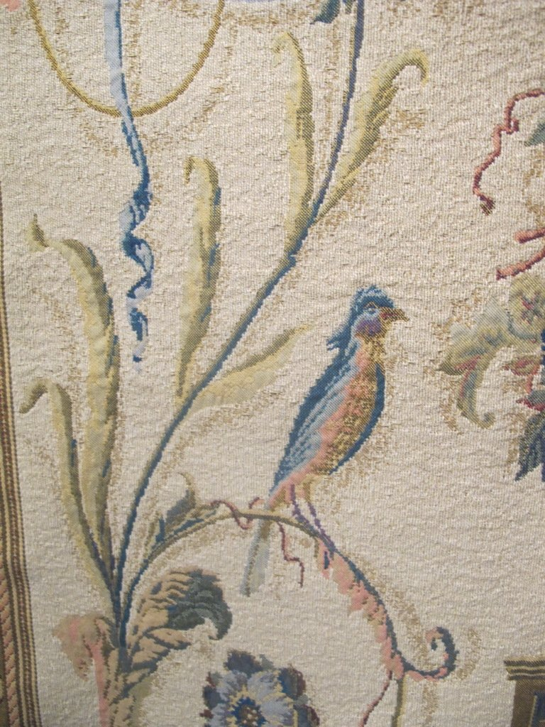 Vintage French tapestry - 5