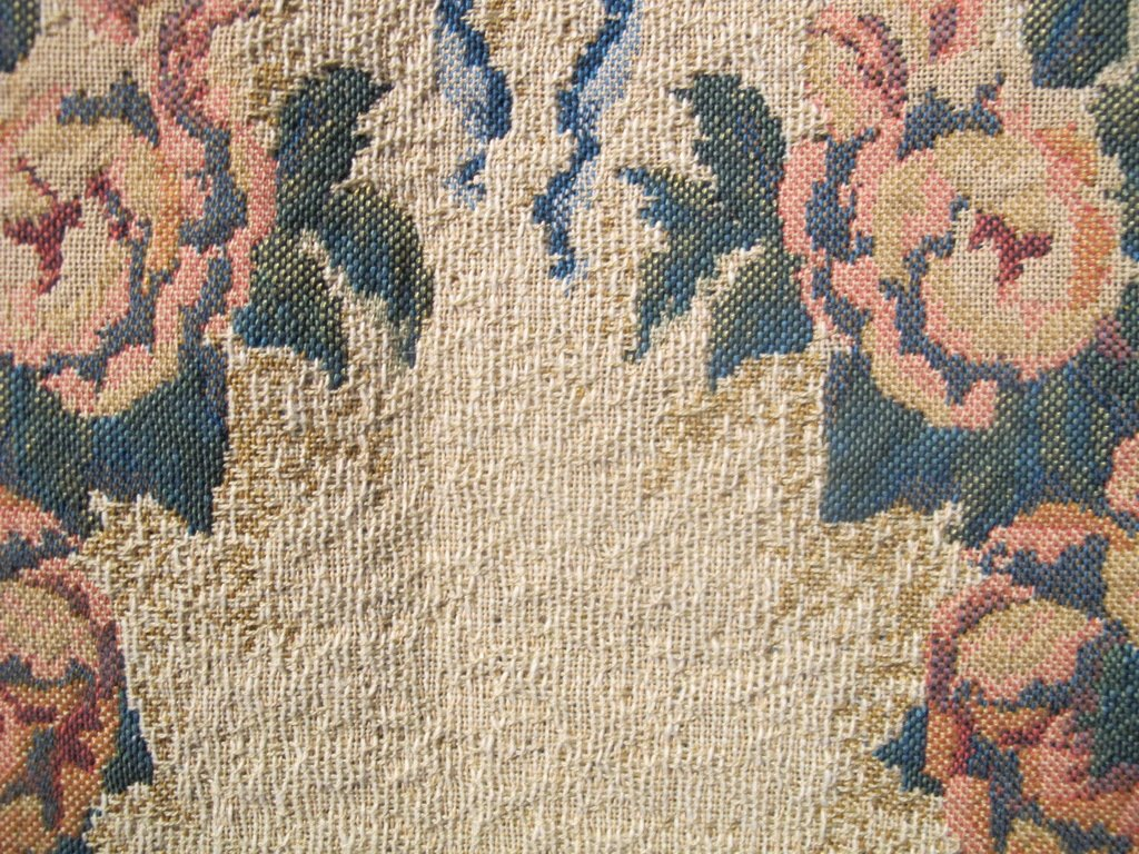Vintage French tapestry - 6