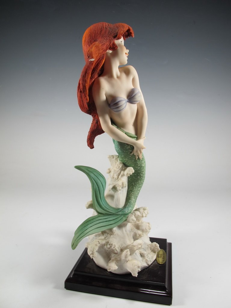 Ariel, Giuseppe Armani 1998 Disney figurine DAMAGED - 8