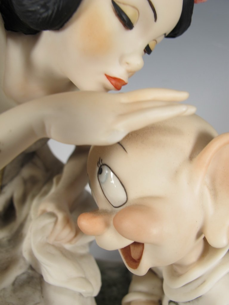 Snow White & Dopey, Giuseppe Armani 2000 Disney DAMAGED - 3