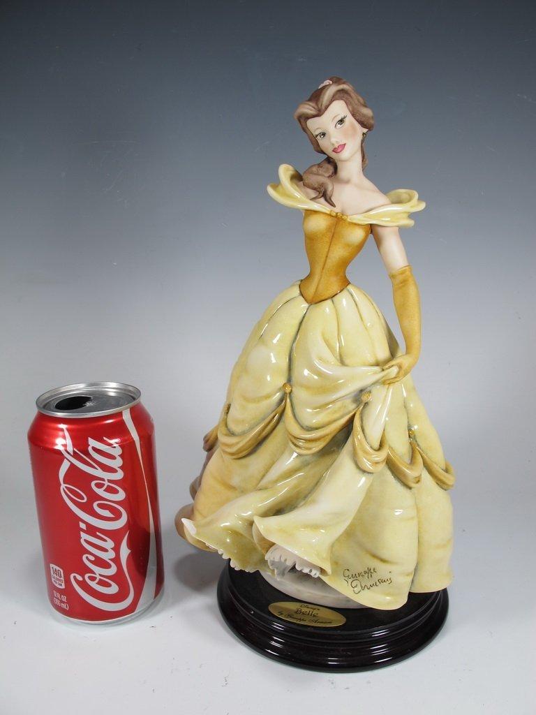 Belle, Giuseppe Armani 2002 Disney figurine DAMAGED