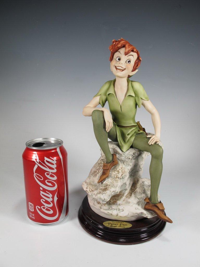 Peter Pan, Giuseppe Armani 2004 Disney figurine DAMAGED