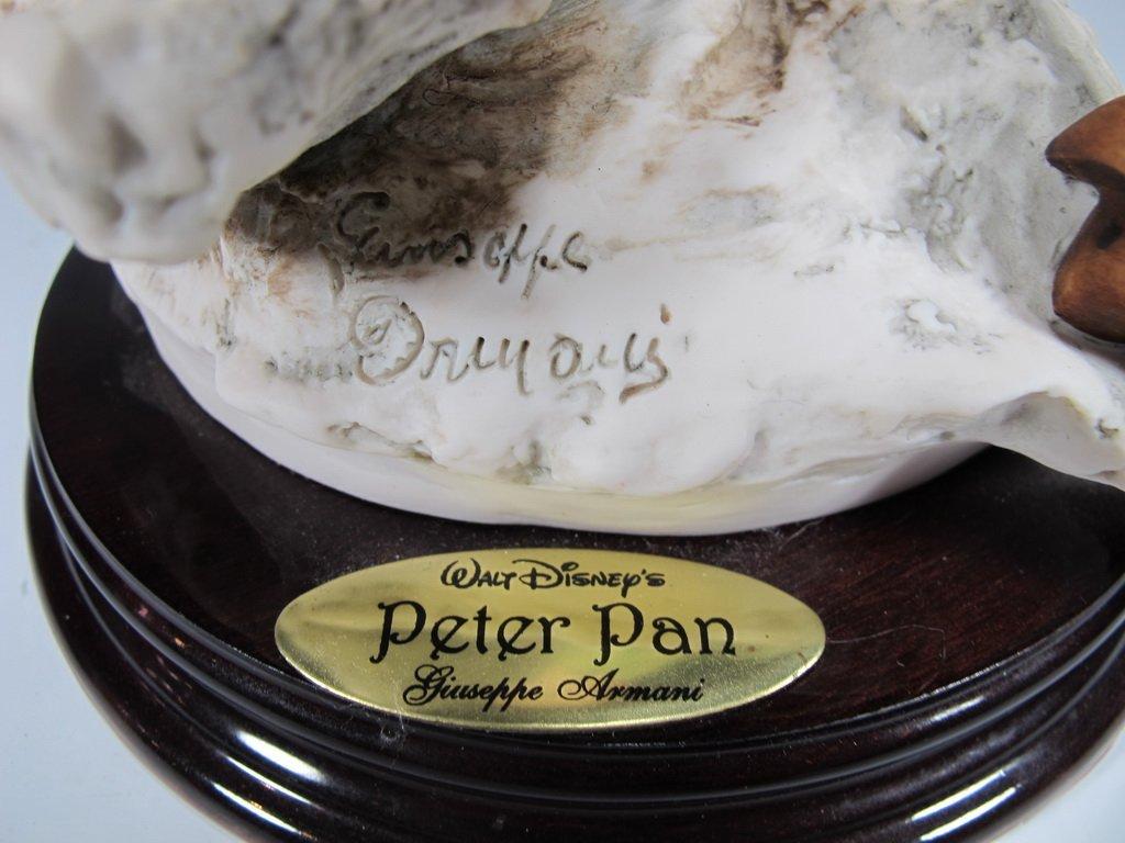 Peter Pan, Giuseppe Armani 2004 Disney figurine DAMAGED - 3
