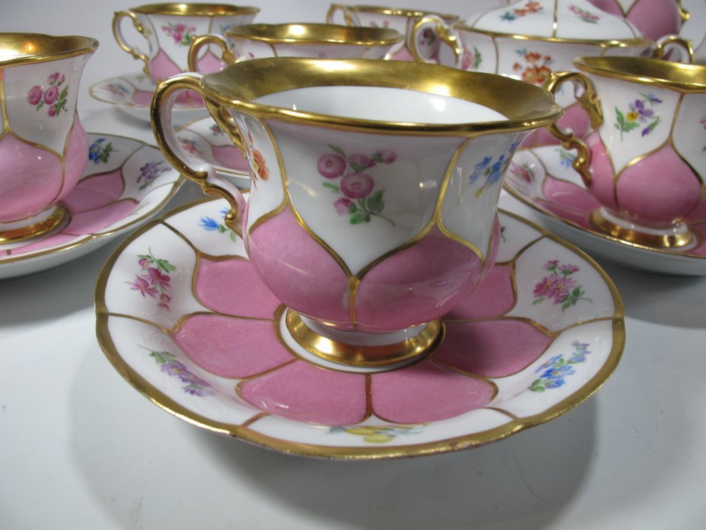 German Meissen set of 27 porcelain pieces - 2