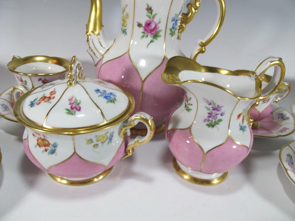 German Meissen set of 27 porcelain pieces - 3