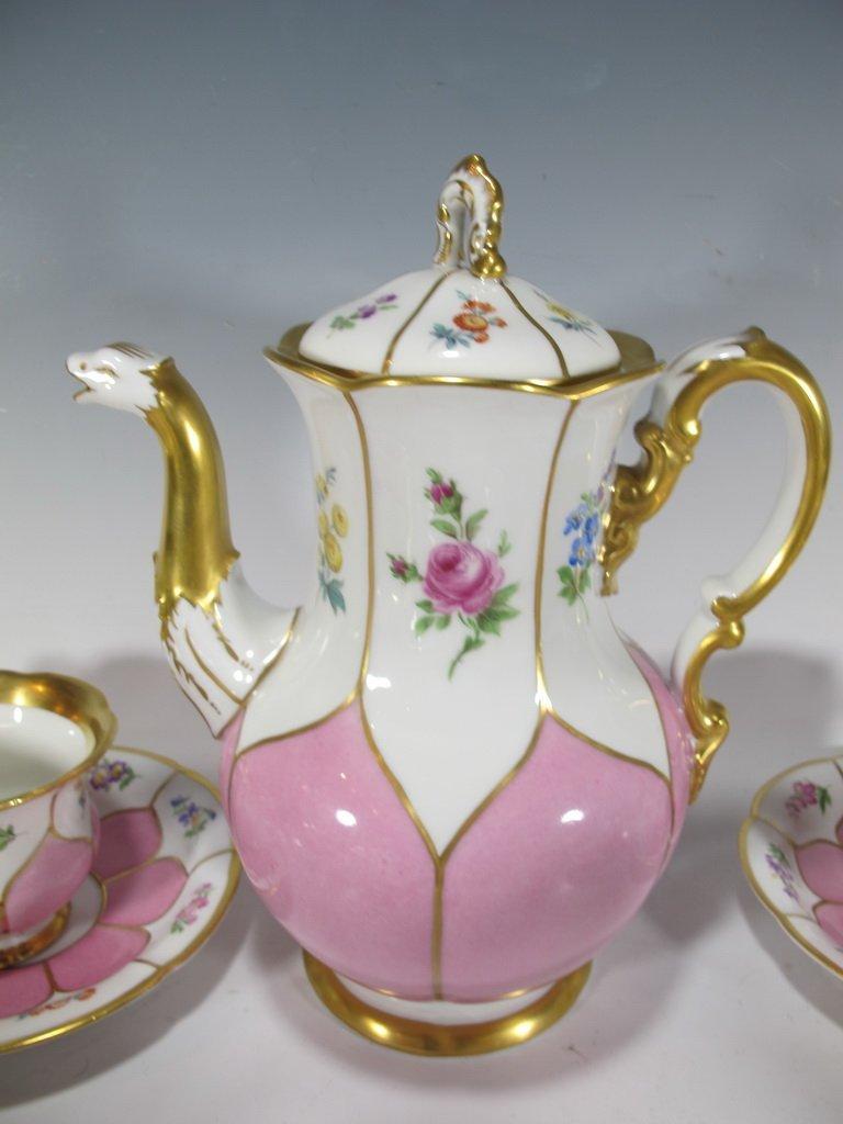 German Meissen set of 27 porcelain pieces - 4