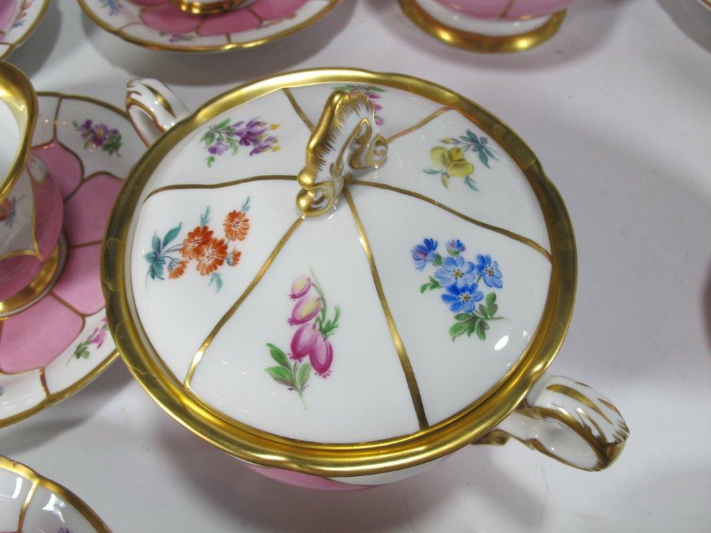 German Meissen set of 27 porcelain pieces - 5