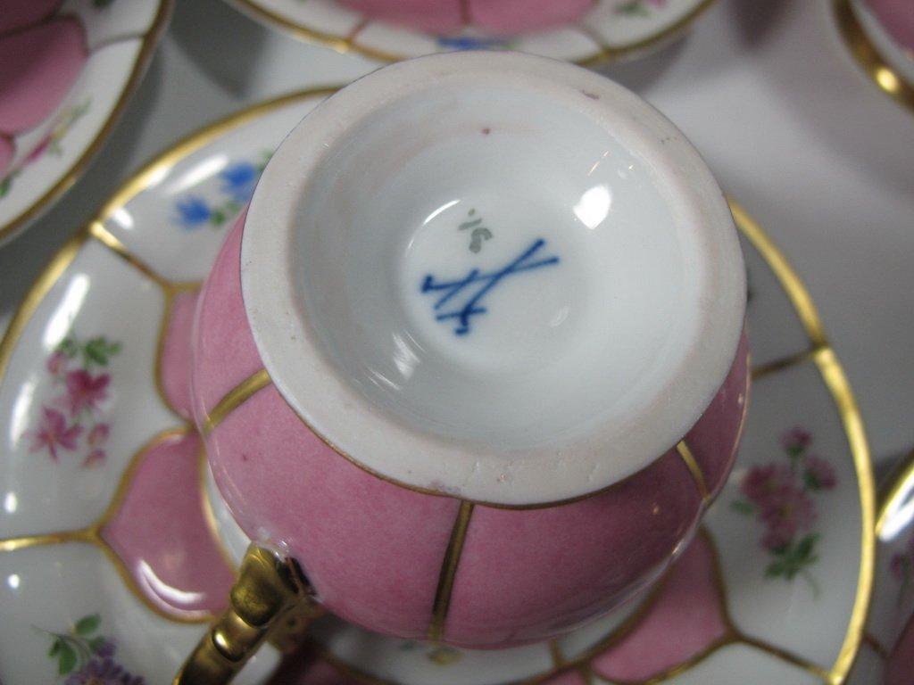 German Meissen set of 27 porcelain pieces - 7