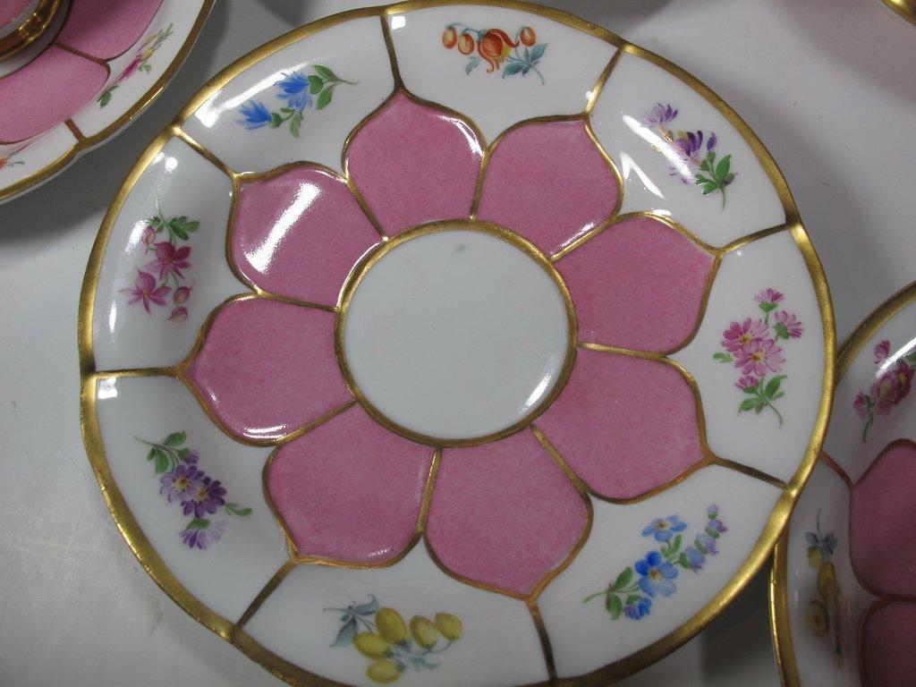 German Meissen set of 27 porcelain pieces - 8
