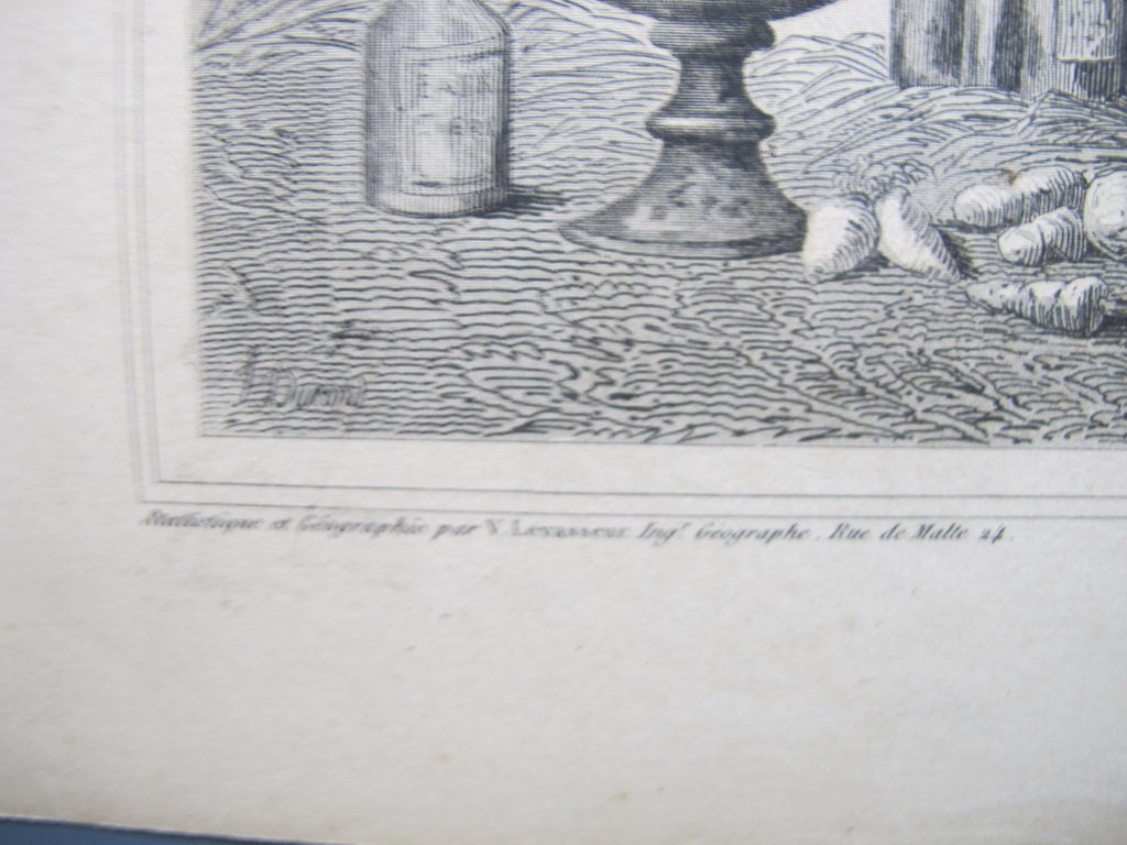 19th C French set of 3 engraving maps - 9