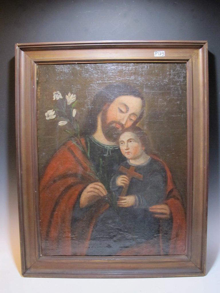 18th/19th C European Religious painting