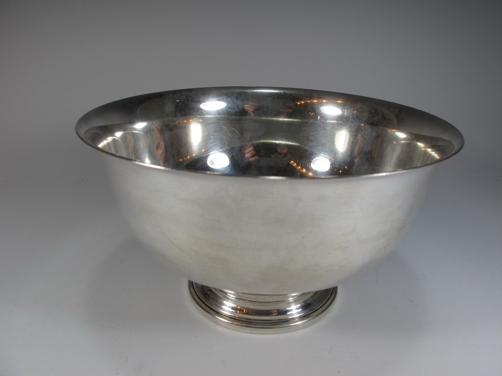Frank M. WHITING & Co, Paul REVERE sterling 925 bowl