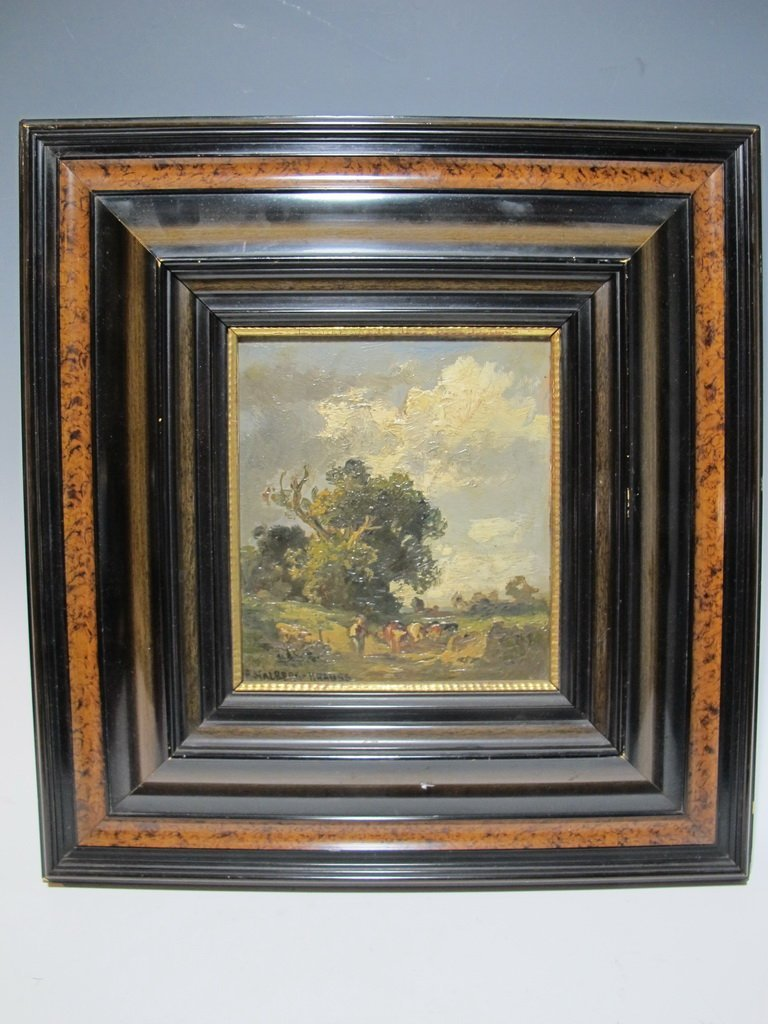 Fritz HALBERG-KRAUSS (1874-1951) German artist painting
