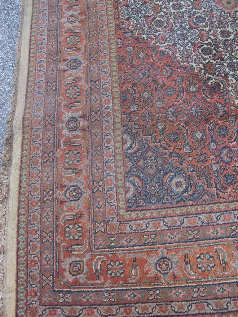 Old Oriental rug - 5