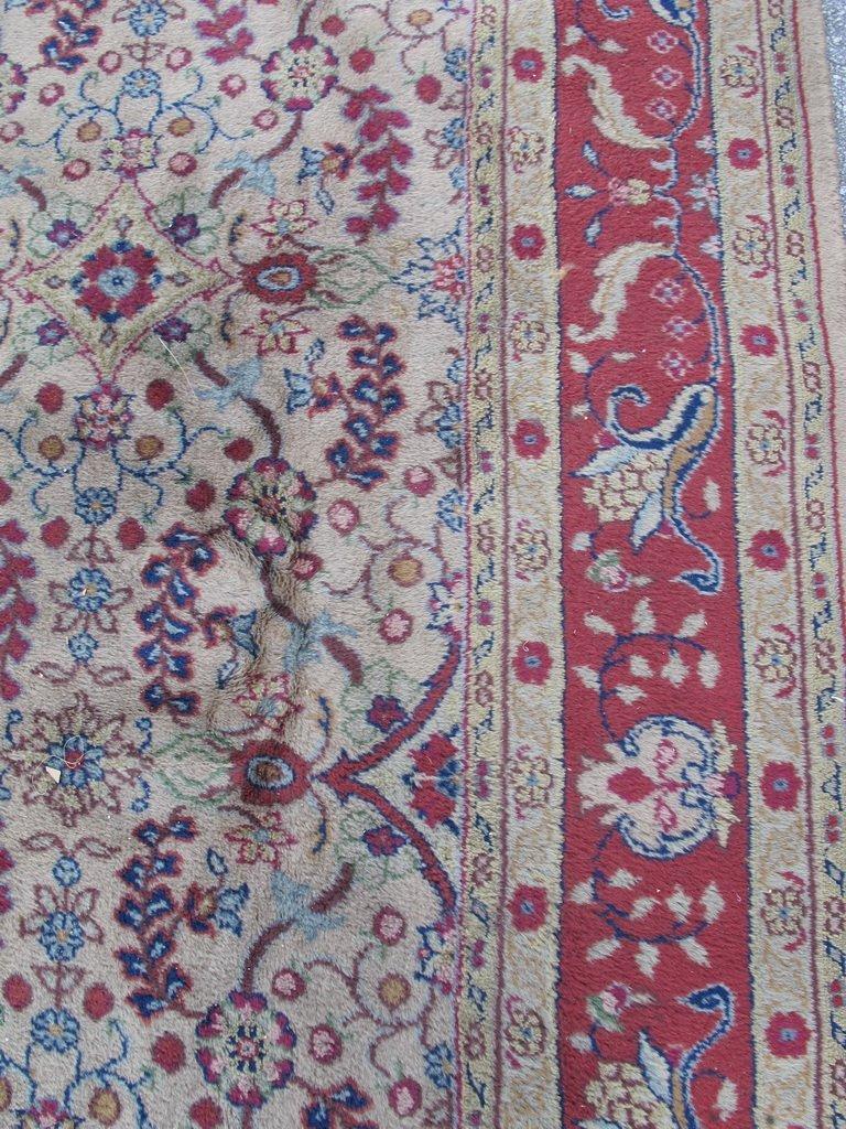 Old Oriental rug - 4