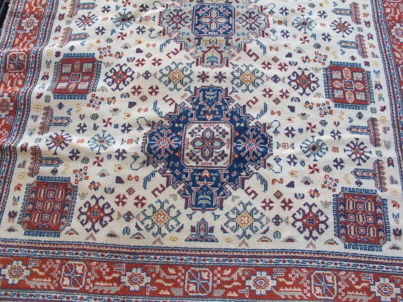 Old Orientalist rug - 2