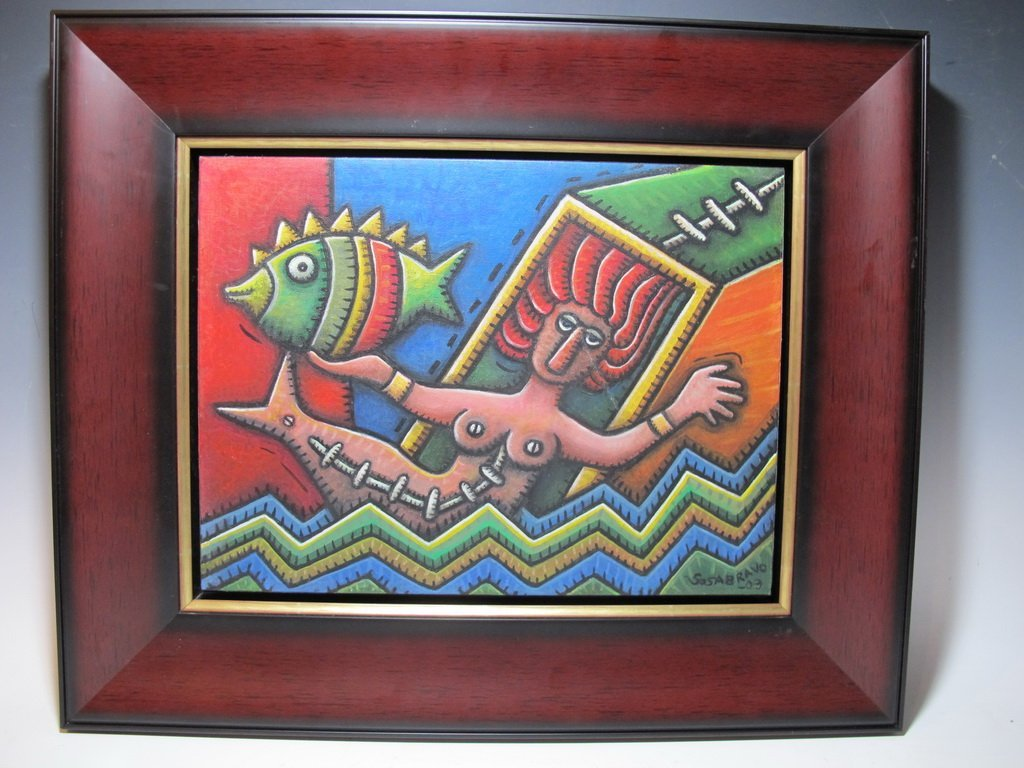 Alfredo SOSABRAVO (1930) Cuban artist