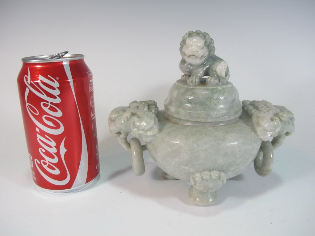 Vintage Chinese hard stone censer