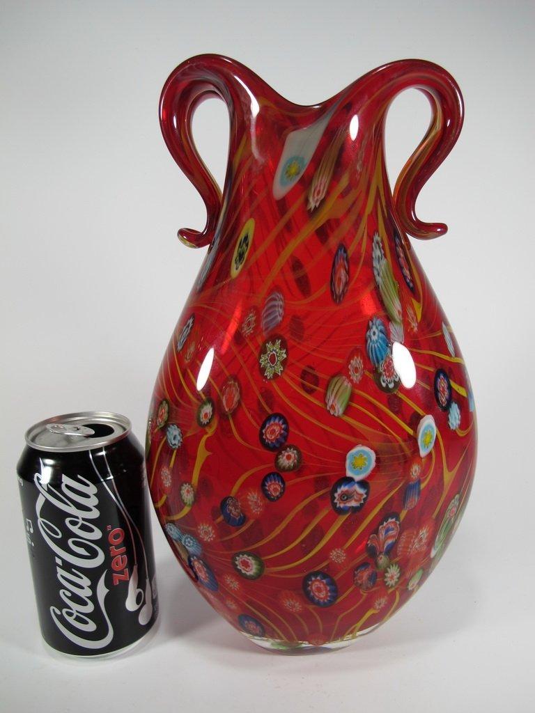 Vintage Italian murano glass vase