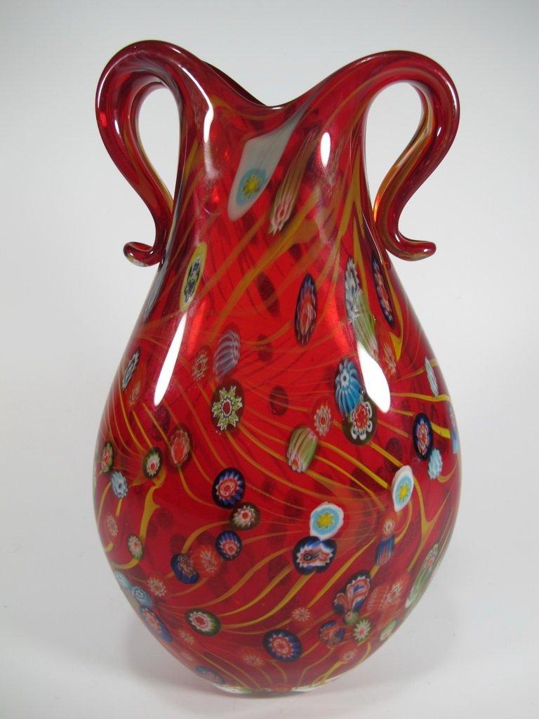 Vintage Italian murano glass vase - 2