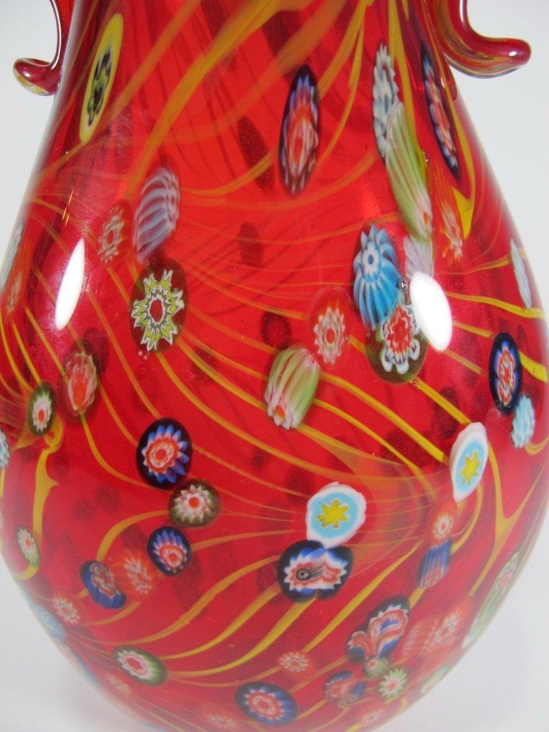 Vintage Italian murano glass vase - 4