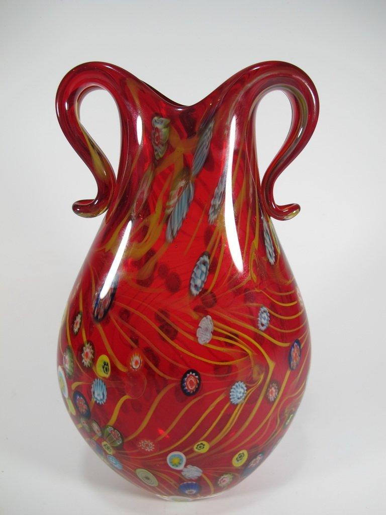 Vintage Italian murano glass vase - 6