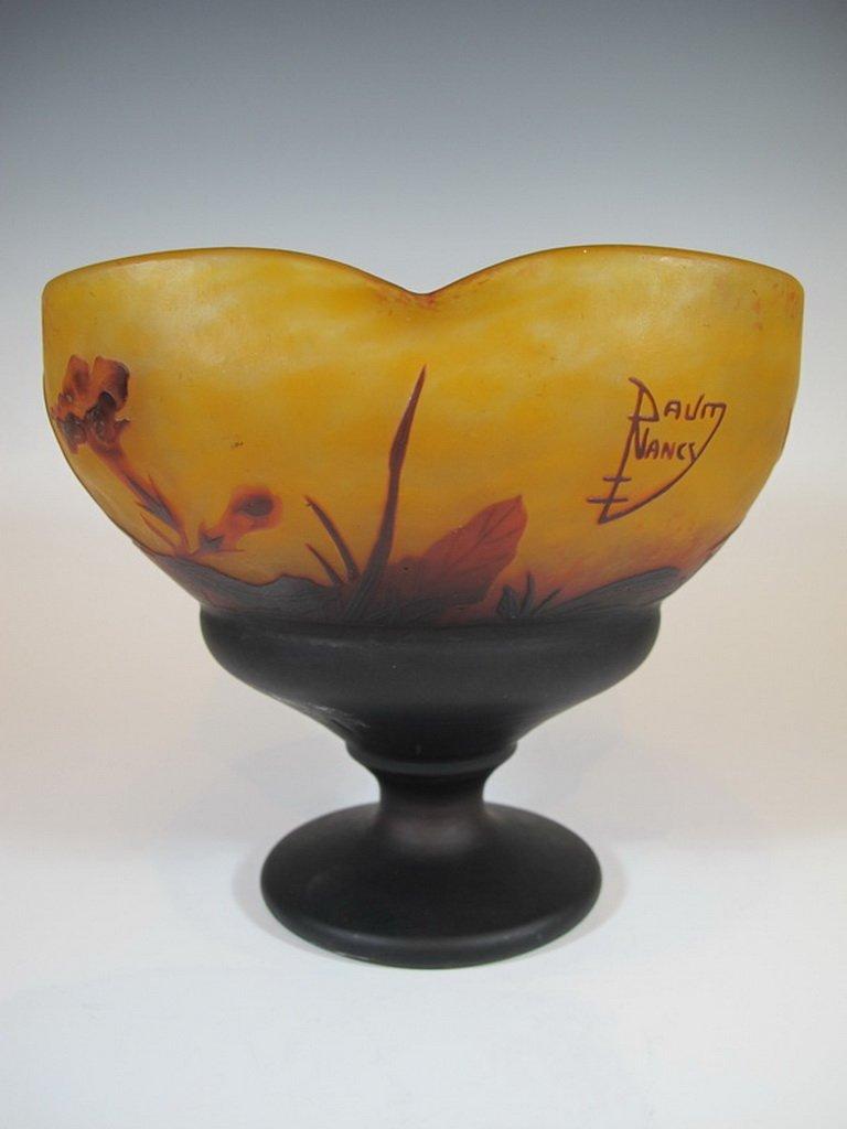 Antique Daum Nancy Cameo Glass Vase - 5