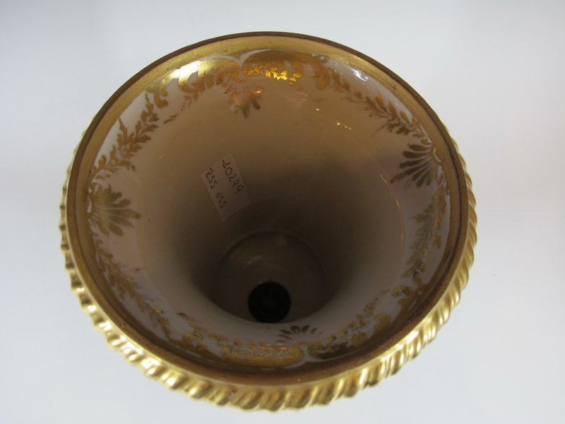 Antique French  porcelain vase - 2
