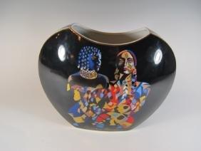 German Goebel, Gaudi Design Porcelain Vase