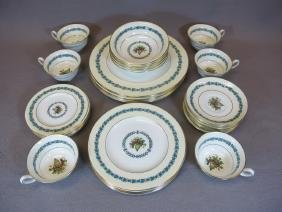 Set Of 36 English Wedgwood Plates And Cups