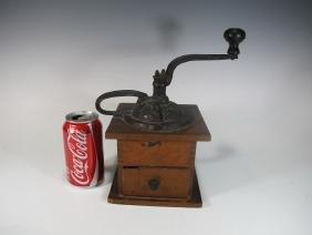 19th C coffee grinder