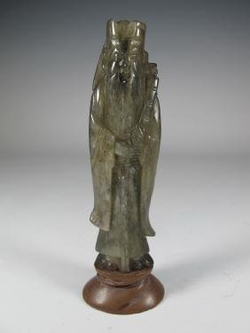 Probably carved Jade Chinese sculpture