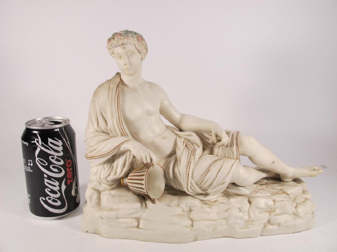 Antique Royal Worcester porcelain statue