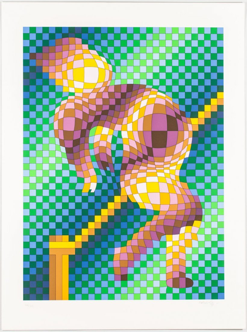 8: VICTOR VASARELY (FRENCH/HUNGARIAN, 1906-1997)