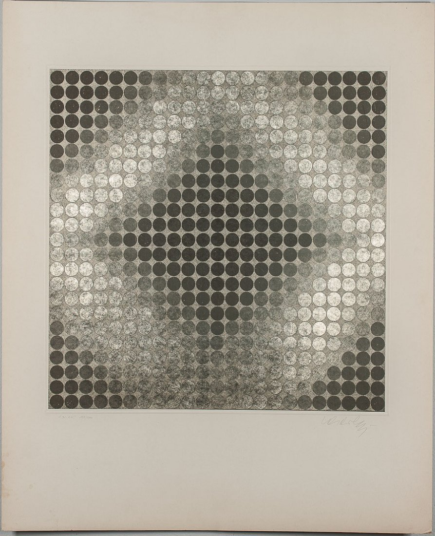 10: VICTOR VASARELY (FRENCH/HUNGARIAN, 1906-1997)