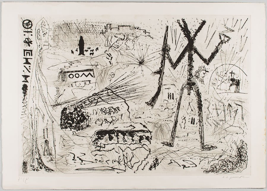 18: A.R. PENCK (GERMAN, 1939)