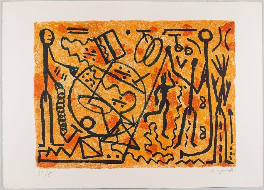 19: A.R. PENCK (GERMAN, 1939)