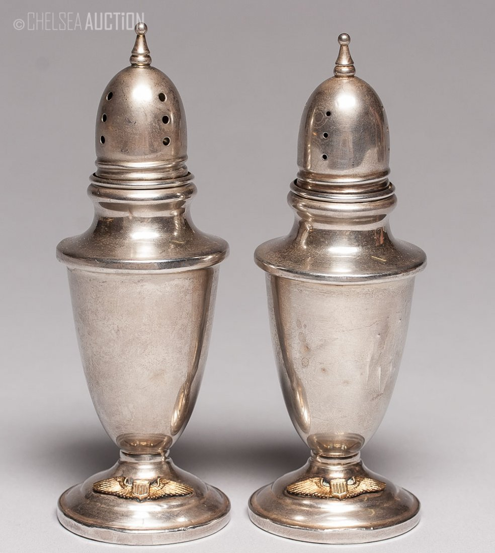 7: American Silver Salt and Pepper Shakers