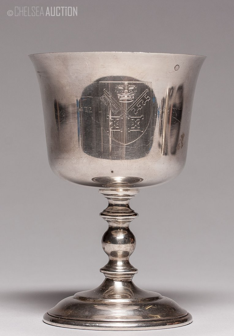 12: Old English Silver Presentation Cup 2.90ozt