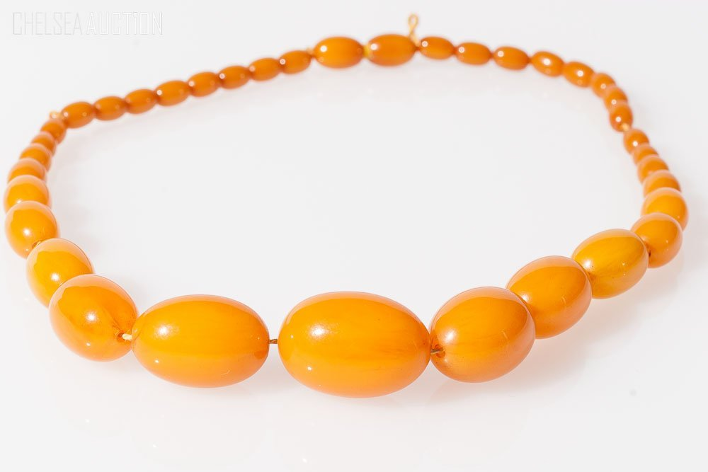 2: Amber Bead Necklace