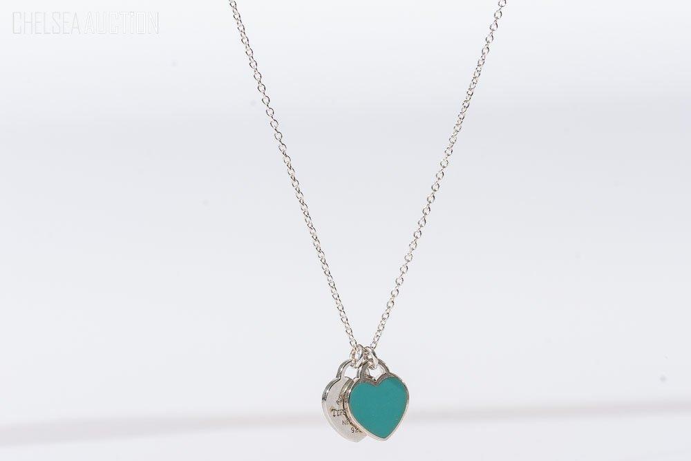 21: Tiffany & Co. Silver Necklace w/ Enamel