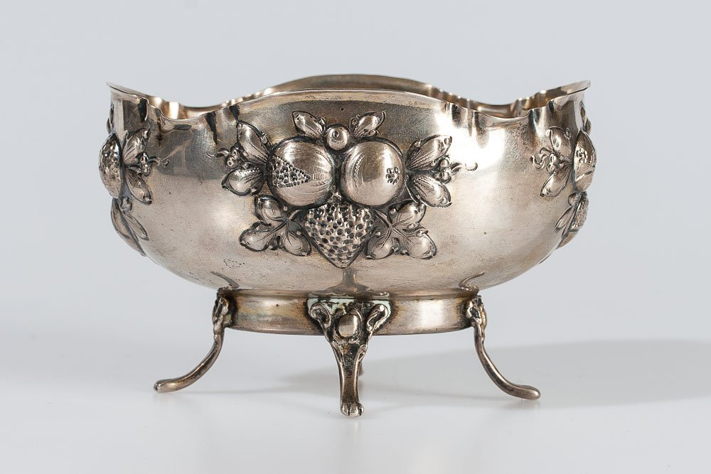 Early 19th C. German Silver Vase (800)
