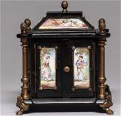 Ca. 1800 Viennese Hand Painted Jewelry Box