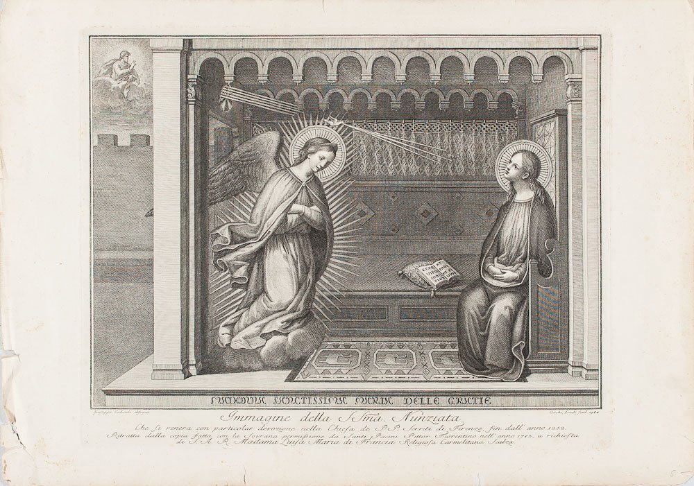Etching by After Giuseppe Calendi by Eredi ad Ecchi