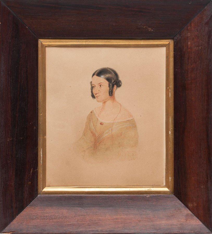 John Henry Mole, Watercolor, 1840