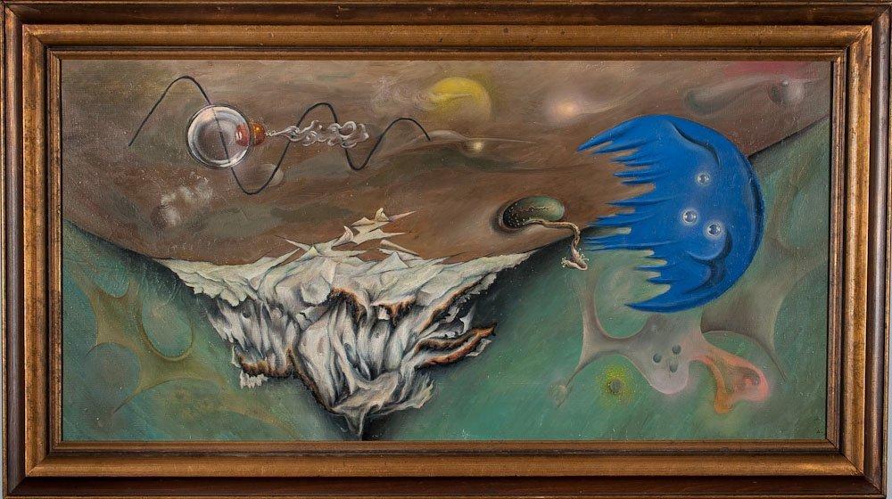 Russian Artist Amir Kakabadze, O/C 1986